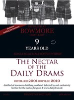 Bowmore 2001 - Daily Dram Germany
