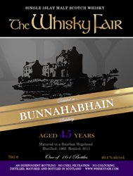 Bunnahabhain 1965 -The Whisky Fair
