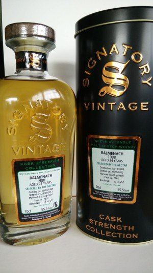 Balmenach 1988 - Signatory Vintage for the Nectar