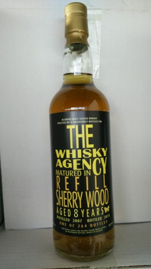 Blended Malt 2007 - Whisky Agency bottled letters