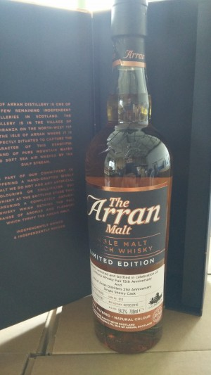Arran 1997 for The Whisky Fair 15th anniversary