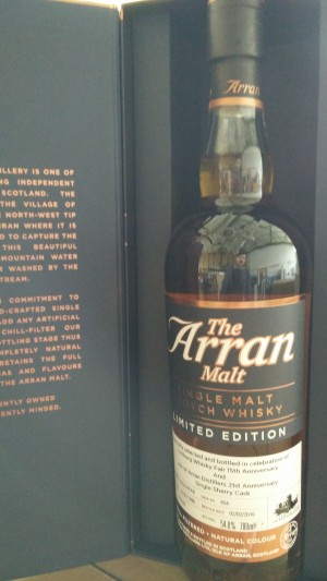Arran 1996 for The Whisky Fair 15th anniversary
