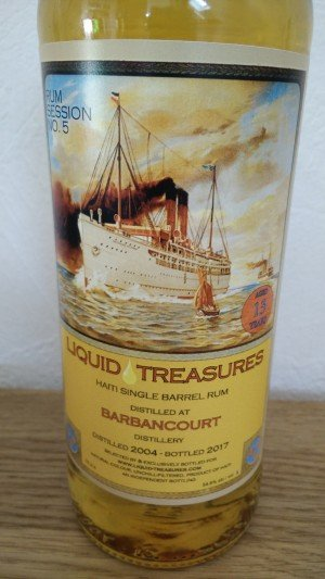 Barbancourt 2004 - Liquid Treasures
