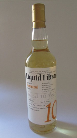 Tomintoul 2001 peated - Liquid Library